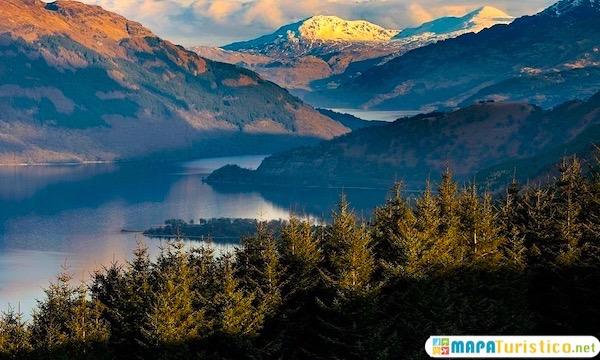 Parque Nacional Loch Lomond-y-los-Trossachs