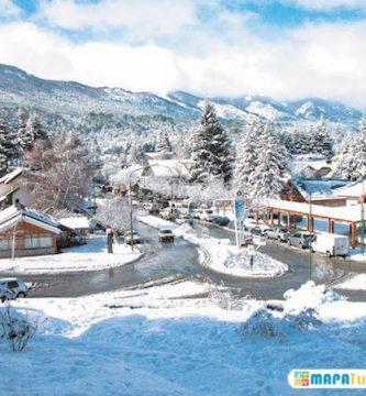 villa la angostura centro invierno