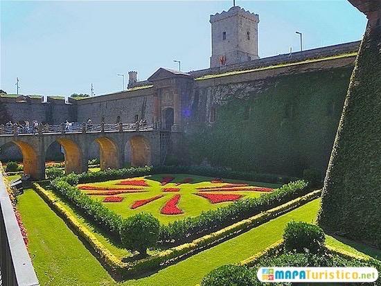 barcelona castillo montjuic