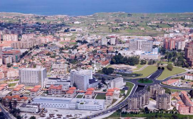 vista aerea de cantabria