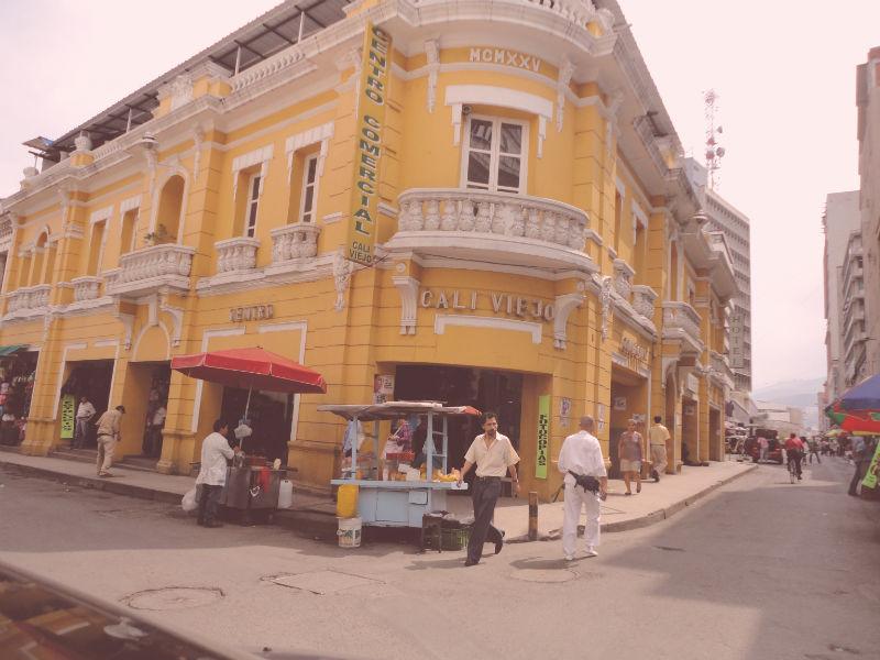 calles centro de cali