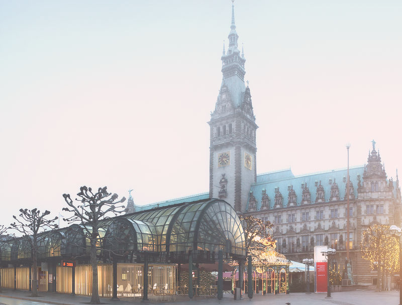 calles centro de hamburgo