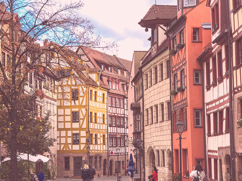 calles centro de nuremberg