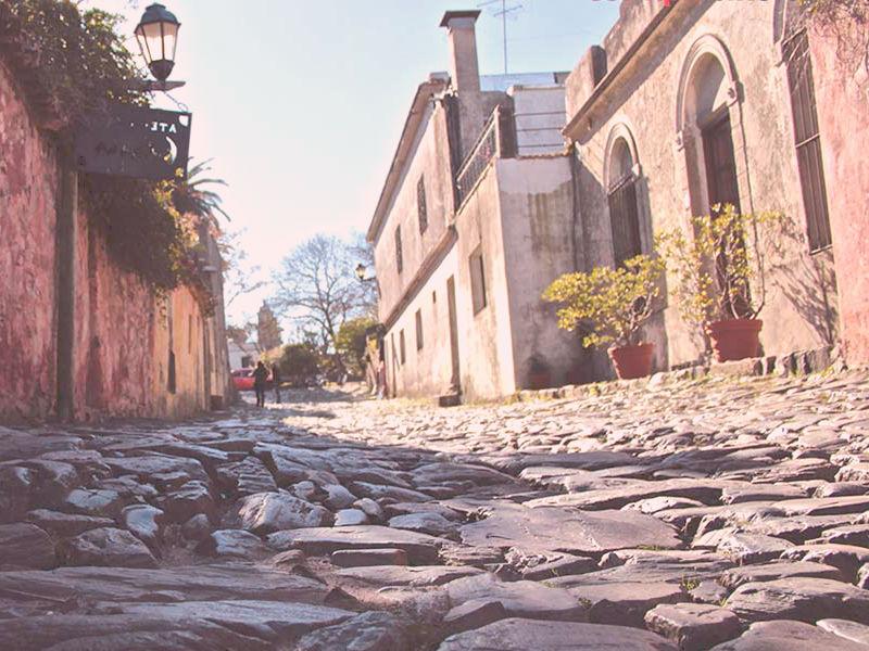 casco histórico centro de colonia
