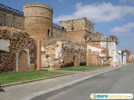 castillo de san pedro huelva