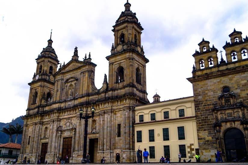 catedral centro de bogotá