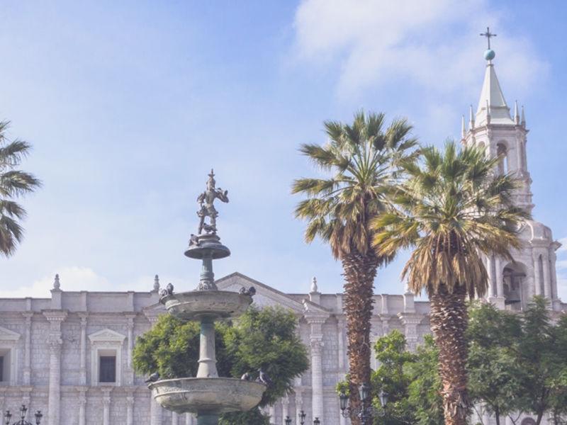 catedral del centro de arequipa