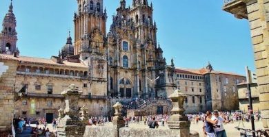 catedral santiago de compostela galicia