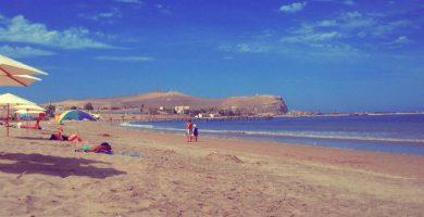 centro de arica playa chinchorro