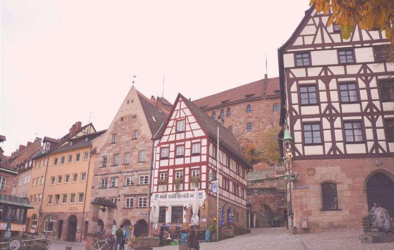 centro de nuremberg casco histórico