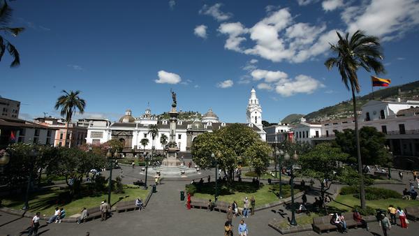 centro de quito casco histórico