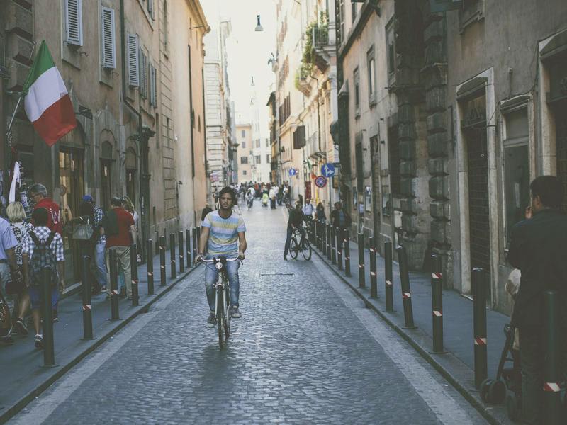 centro de roma calles