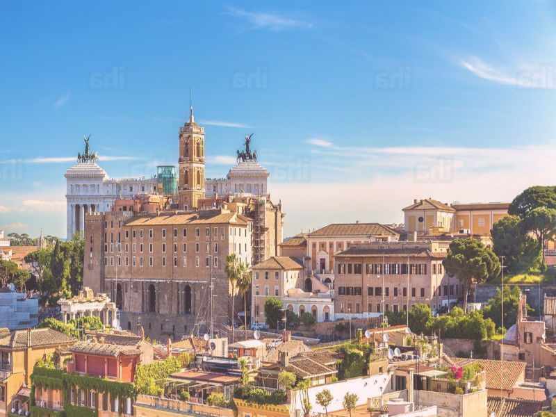 centro de roma casco histórico