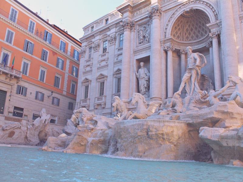 centro de roma fuente
