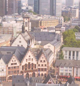 ciudad centro de frankfurt
