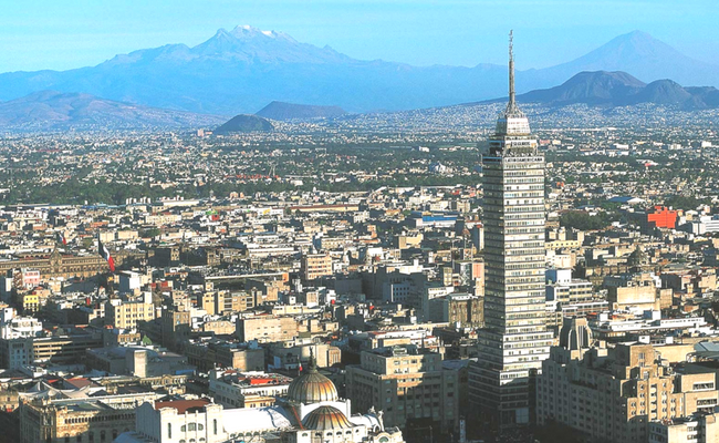 skyline ciudad de mexico