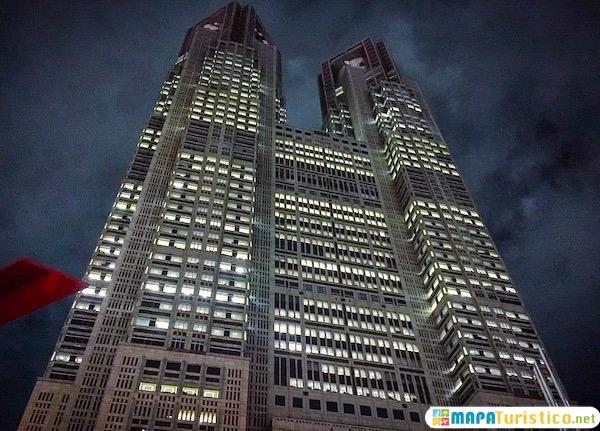 edificio del gobierno metropolitano