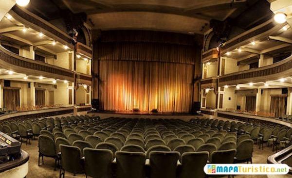 interior del teatro colon de mar de plata