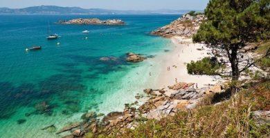 isla cies de pontevedra galicia