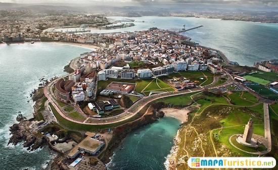 A Coruña Mapa Turistico.Mapa Turistico La Coruna En 2019