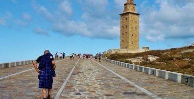 la torre de hercules galicia