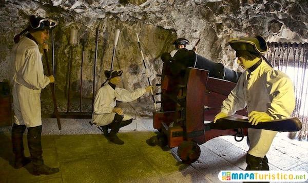los tuneles de asedio