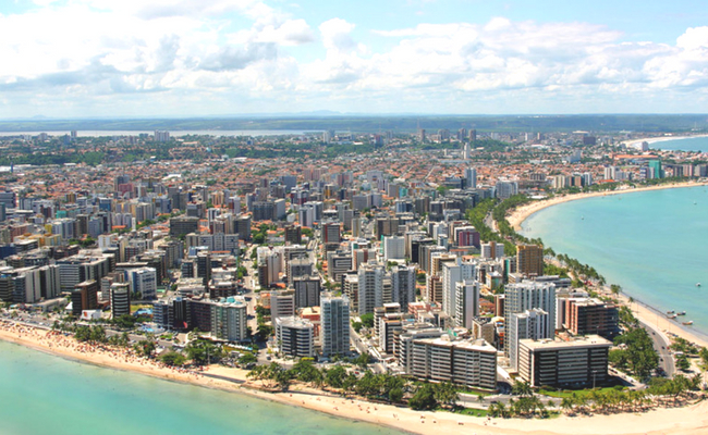 Maceio skyline