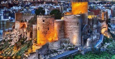 mapa turistico alcazaba de almeria