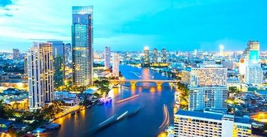mapa turistico bangkok