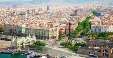 mapa turistico barcelona