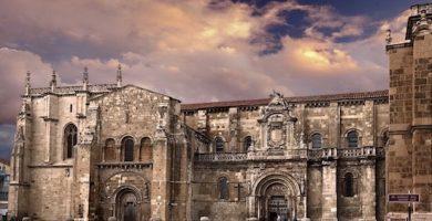 mapa turistico basilica de san isidoro
