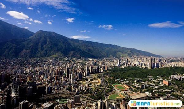 Mapa turístico Caracas