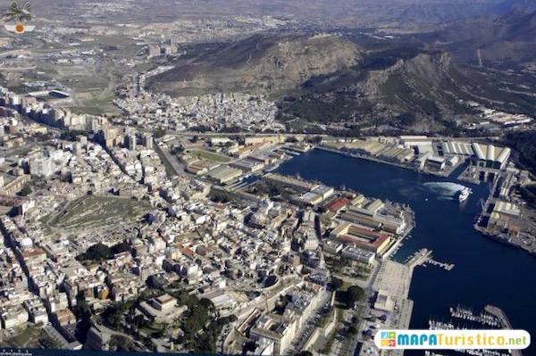 Mapa De Cartagena Murcia.Mapa Turistico Cartagena En 2019