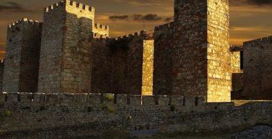 mapa turistico castillo de trujillo