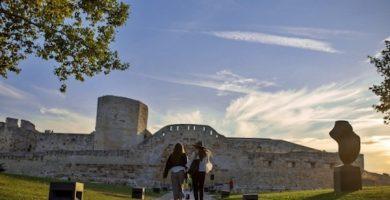 mapa turistico Castillo de Zamora