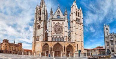 mapa turistico catedral de leon