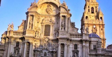 mapa turistico catedral de murcia