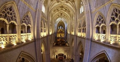 mapa turistico catedral de san antolin