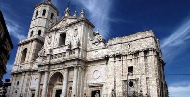 mapa turistico catedral de valladolid