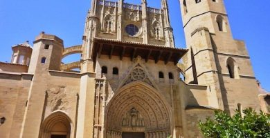 mapa turistico Catedral Santa María de Huesca