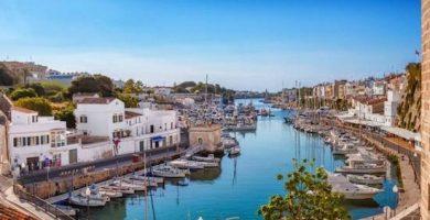 mapa turistico ciutadella Menorca