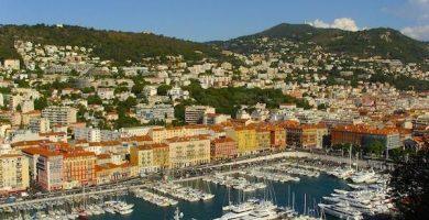 mapa turistico de Niza