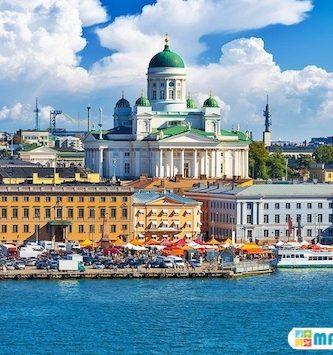 mapa turistico de finlandia