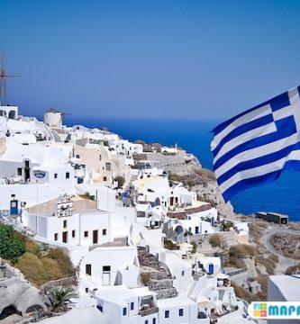 mapa turistico de grecia