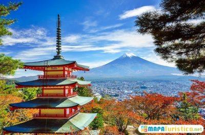mapa turistico de japon