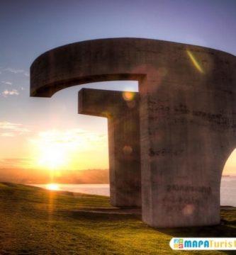 mapa turistico el elogio del horizonte