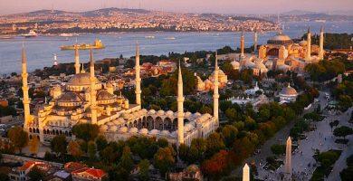 mapa turistico de Estambul