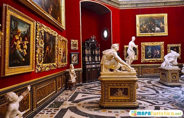 galería ufizzi florencia
