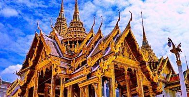 mapa turistico gran palacio de bangkok