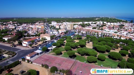 Mapa De Huelva Capital.Mapa Turistico Huelva En 2019